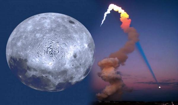Σελήνη  το σκάφος ελέγχου της γης! και ο χάρτης της αθέατης πλευράς της Σελήνης των Μάγιας