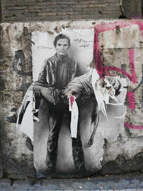 Murales di Pasolini-Roma