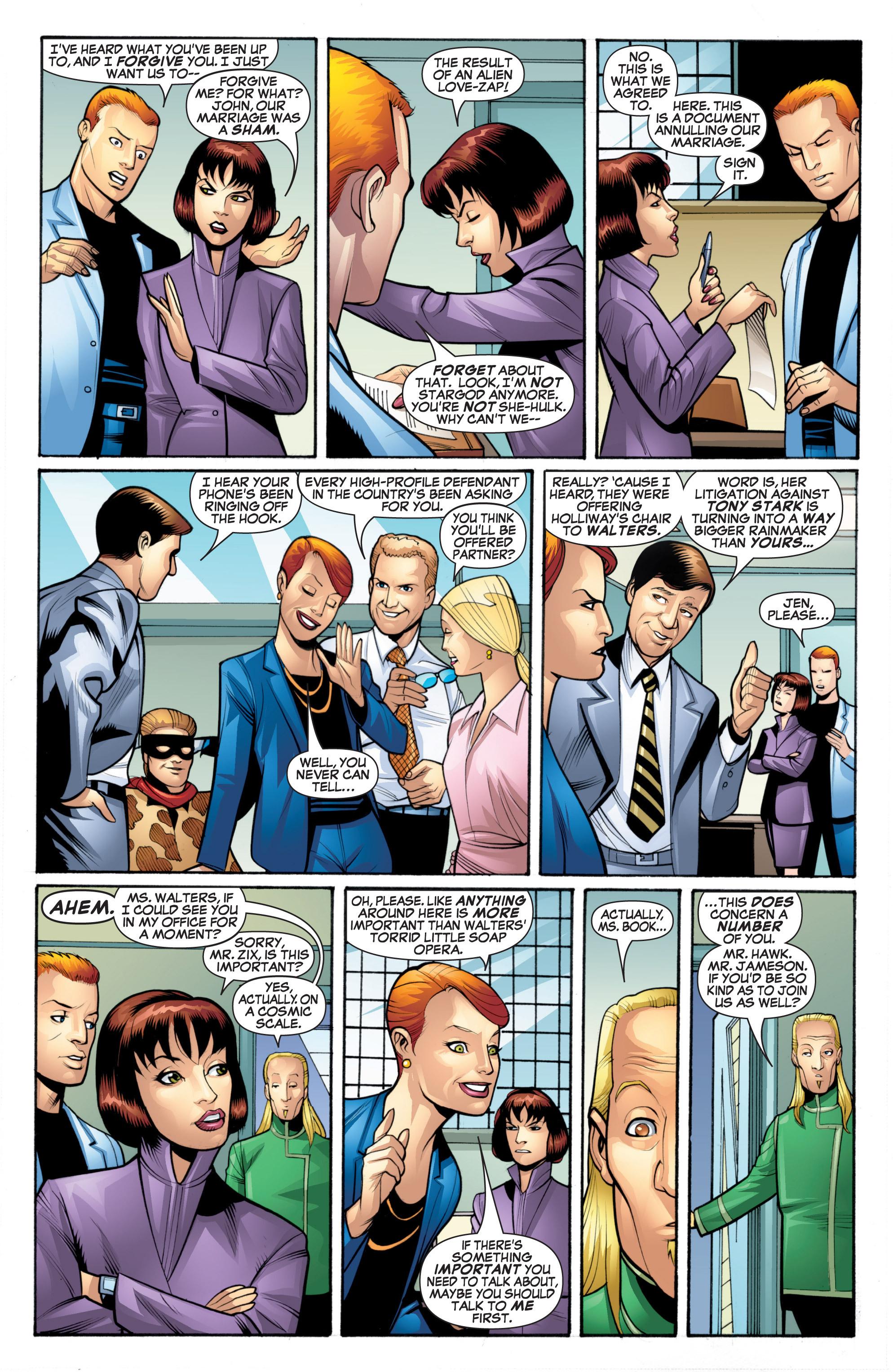 Read online She-Hulk (2005) comic -  Issue #20 - 3