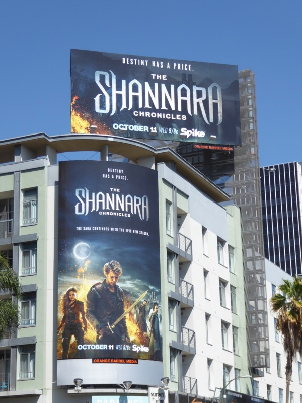 Shannara Chronicles season 2 billboard
