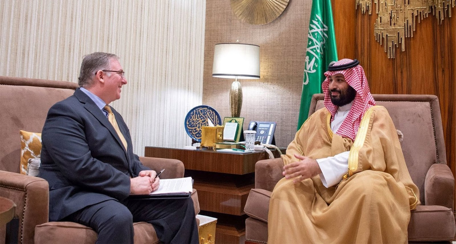 Delegasi Israel di Riyadh saat Netanyahu meminta AS untuk mendukung MBS