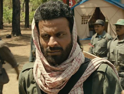 Manoj Bajpai as the charismatic Naxalite leader Rajan, Chakravyuh (2012), Directed by Prakash Jha