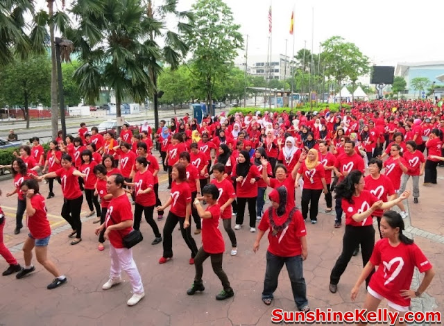 Malaysian, Step Up, Line Dance, Healthy Heart, exercise, fitness