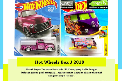 Bocoran Hot Wheels Box J 2018 ('52 Chevy)