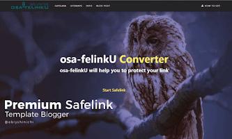 Premium Safelink Template Blogger dari Antoncabon.us