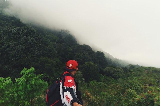 Pemandangan Indah Gunung Pundak