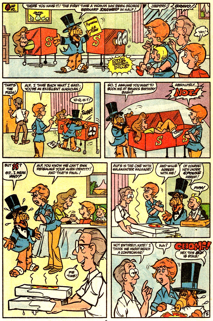 Read online ALF comic -  Issue #34 - 12