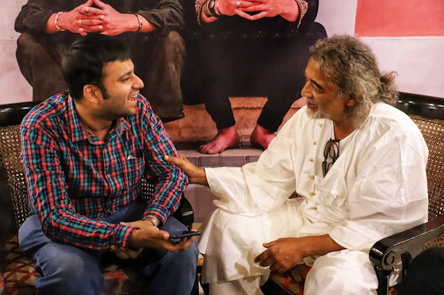 A rendezvous with noted singer-songwriter Lucky Ali