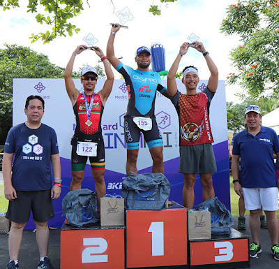 Triathletes of all ages dominate MediCard Sprint Tri 2018