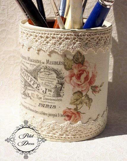 artystyczny recycling z puszek
