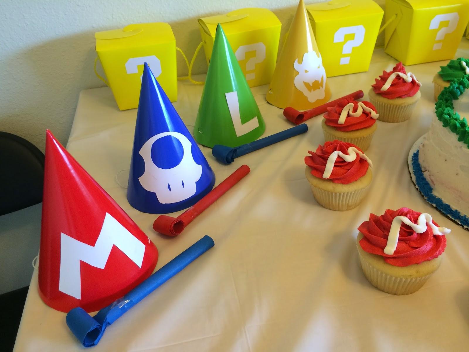 Mario 5th Birthday Party