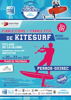Affiche de la TKP, finale de l' Engie Kite Tour 2017