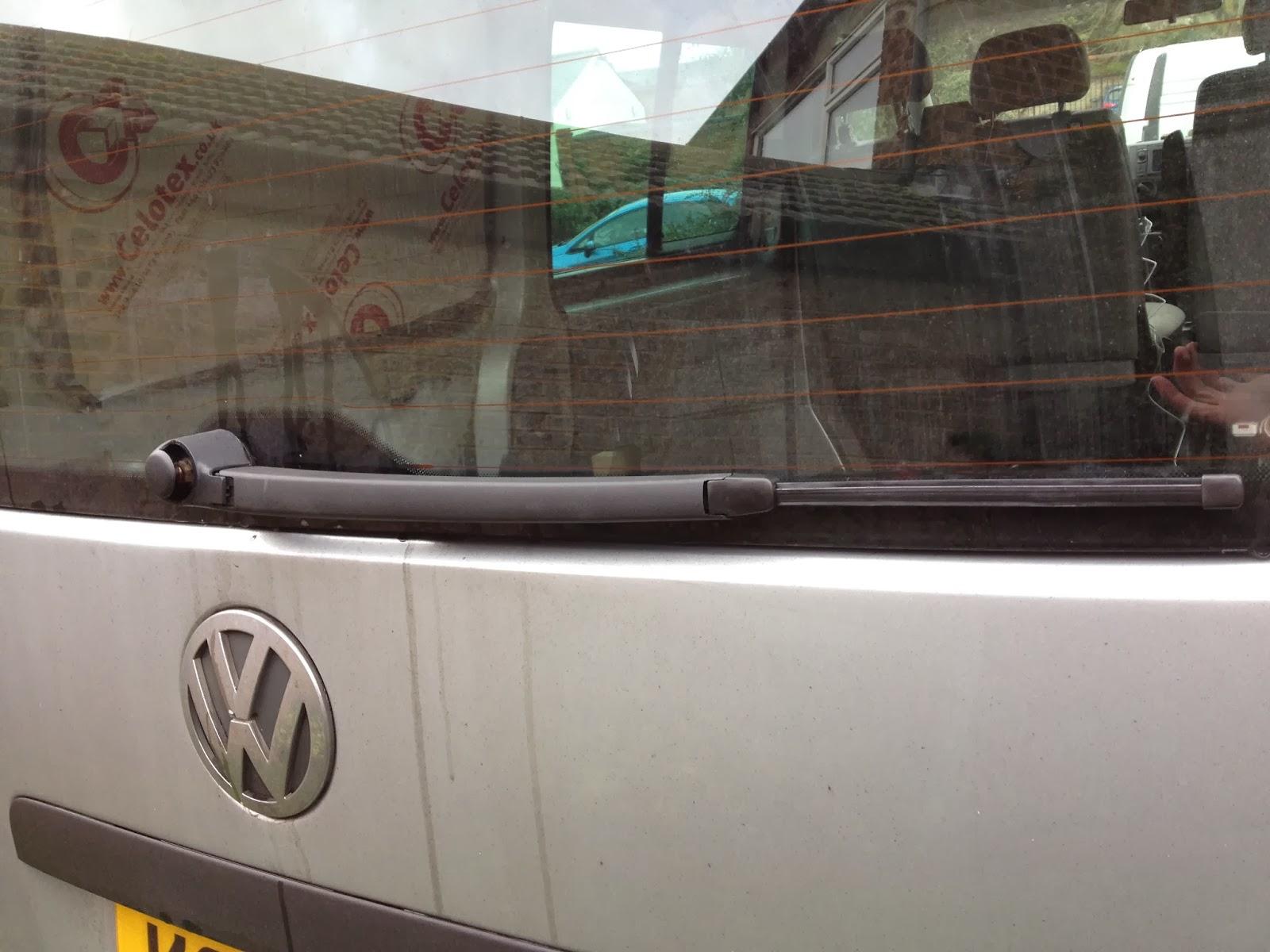 Replacing Rear Wiper and Motor | VW T5 Van Conversion