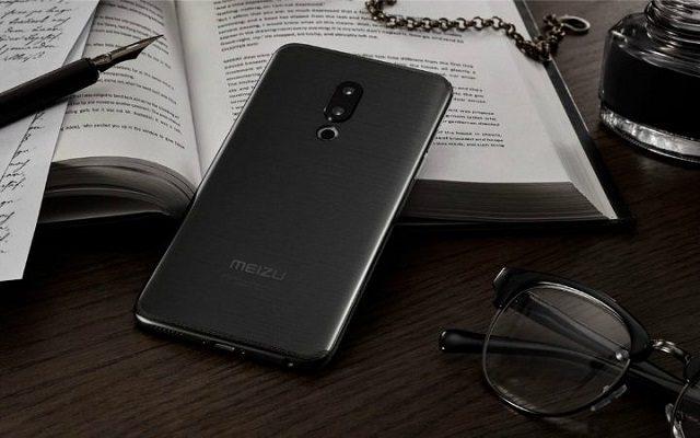 Meizu 16 lector huellas pantalla