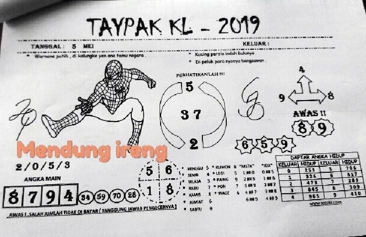 Kode syair hk Minggu 5 Mei 2019 - GOsyair SEDIA KODE SYAIR