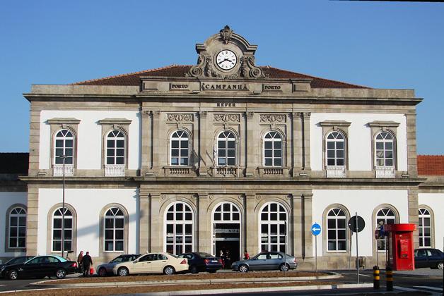 Estação de Campanhã no Porto