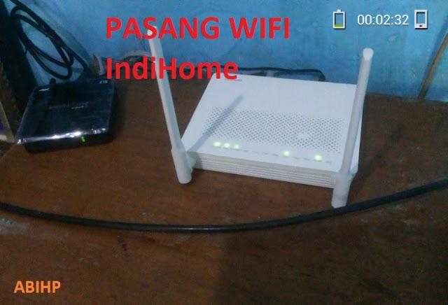 Cerita pemasangan wifi indihome 2019.