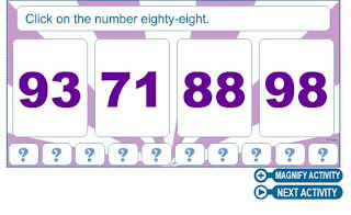 http://www.numbernut.com/numbersandcounting/activities/number_4card_1-100.html