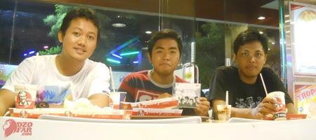 Makan di KFC