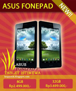 Harga ASUS Fonepad 7 Inchi sangat terjangkau