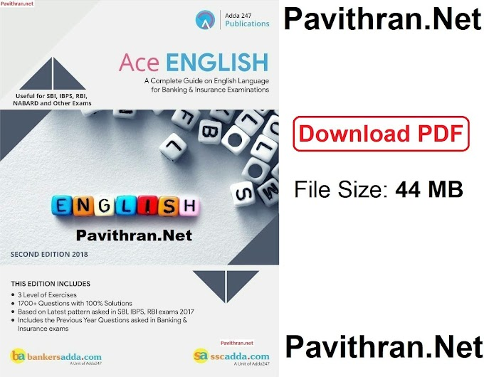 Ace English Paid e-Book from Adda247 PDF Download