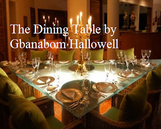 The Dining Table by Gbanabam Hallowell Summary & Analysis [African Poetry]