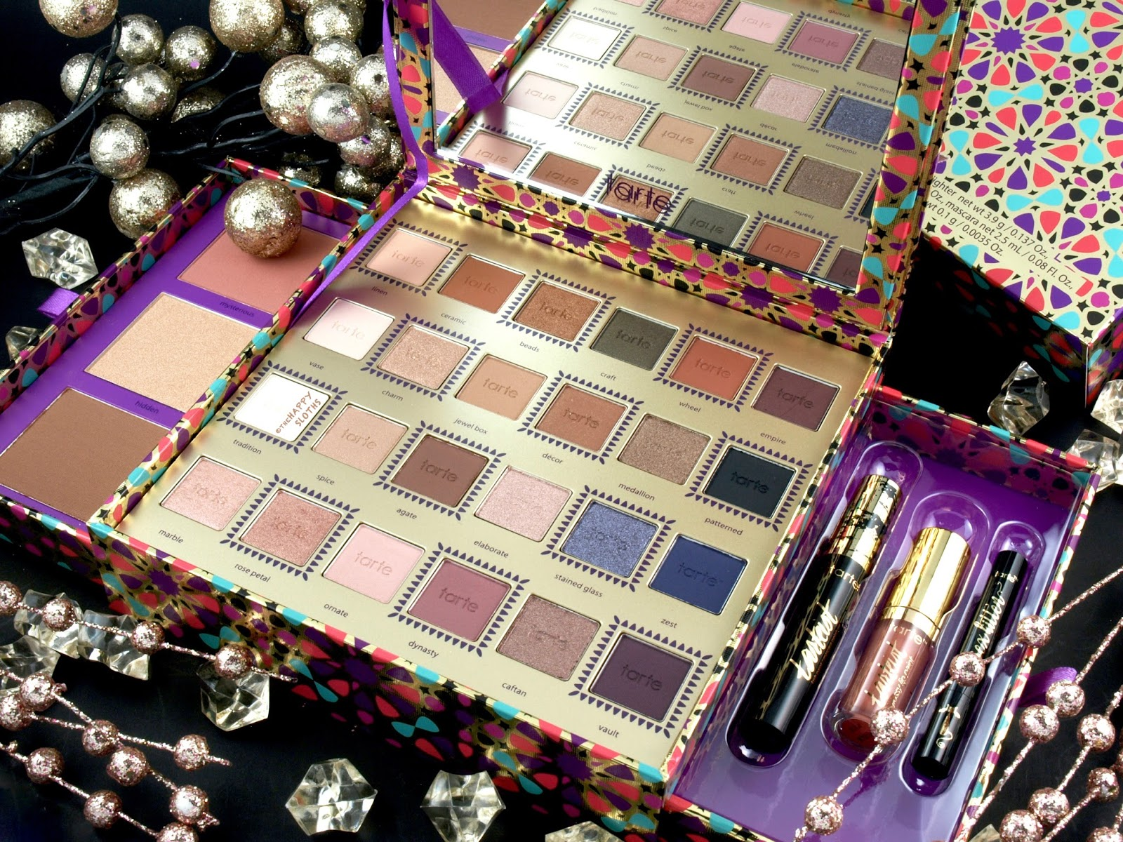 Tarte Holiday 2017 Tarteist Trove Collector's Set: Review and Swatches