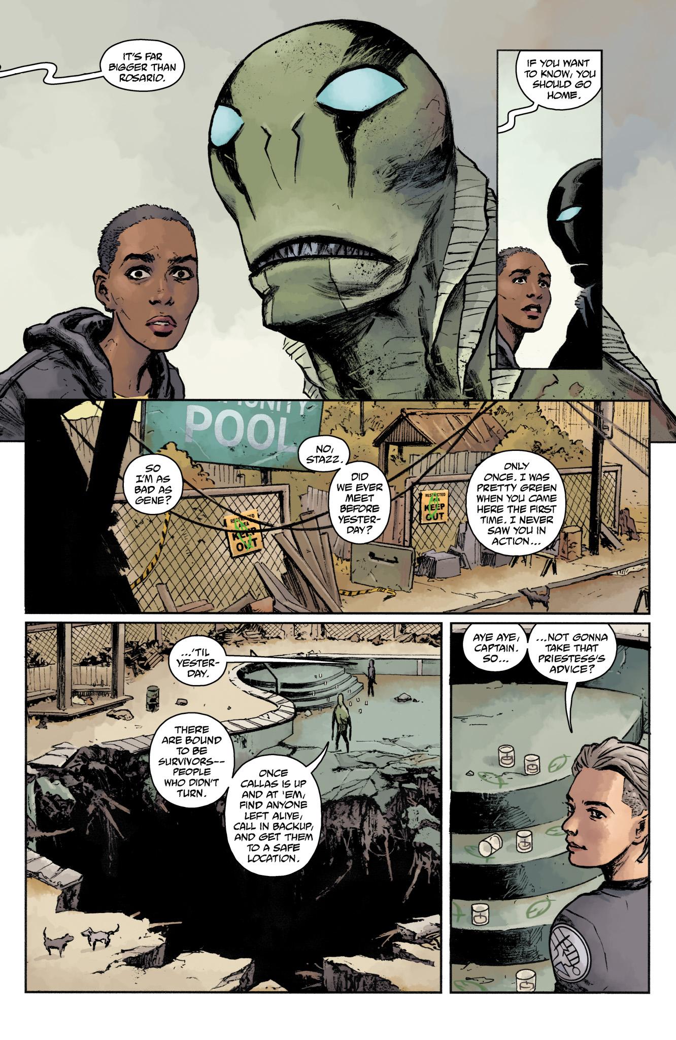 Read online Abe Sapien comic -  Issue #17 - 18
