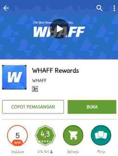 Buka aplikasi whaff locker di android