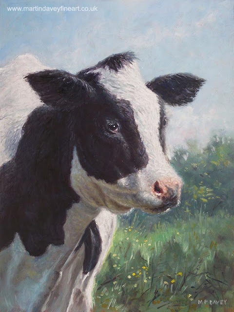 Martin Davey animal farm cow art