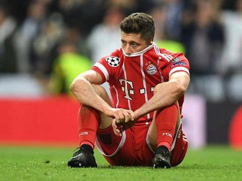 Bayern đang phụ thuộc vào khả năng ghi bàn của Lewandowski.