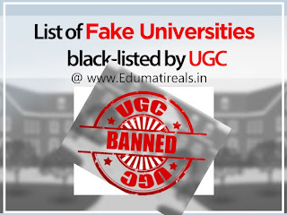 Fake Universities List Of India