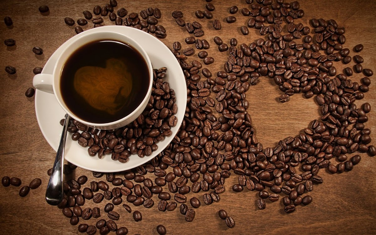 Coffee Beans Widescreen HD Wallpaper 9