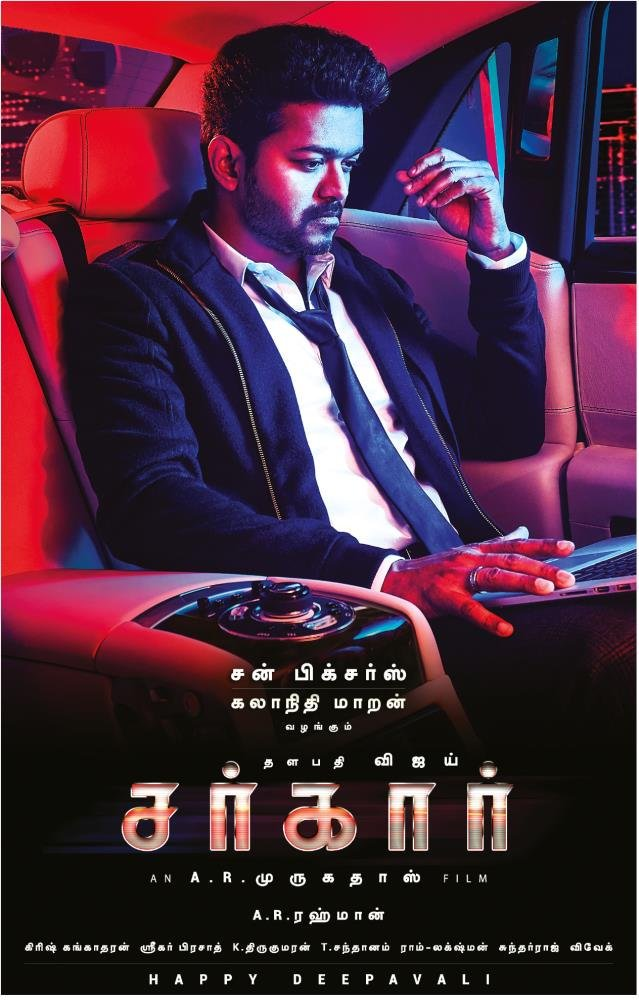 Sarkar (2018) Tamil – All Songs [LEAKED]- MP3 – 320Kbps – 50MB – AR.Rahman Musical free download