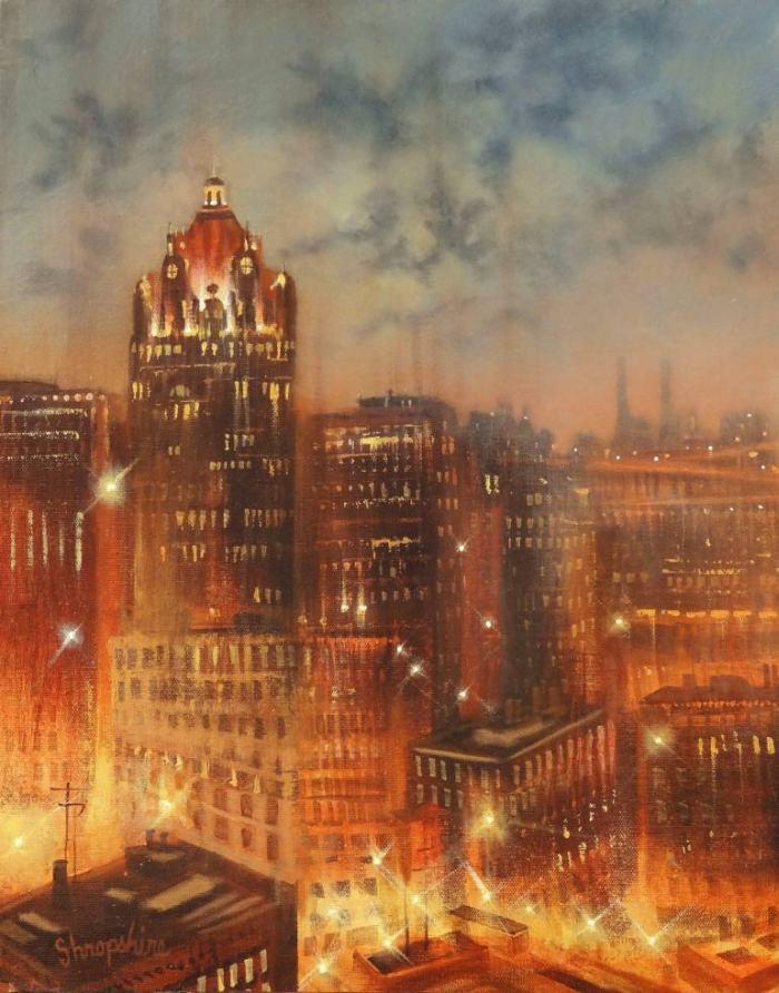 Романтика ночного города