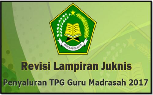 Unduh Revisi Juknis Tunjangan Profesi Guru Madrasah 2017