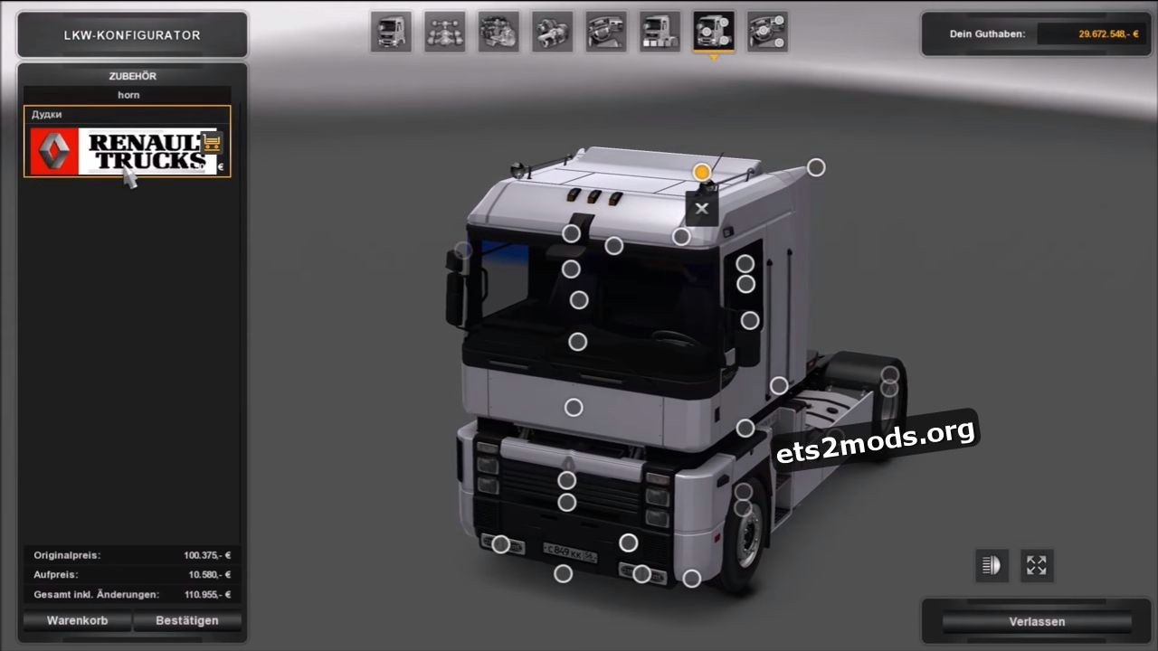 Truck - Renault Integral 390