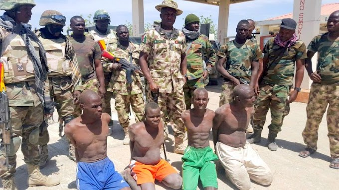 Army arrests 40 foreigners after Sambisa Forest's fall