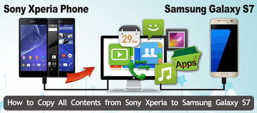 Samsung iPhone Transfer: How to Transfer Contacts from Sony