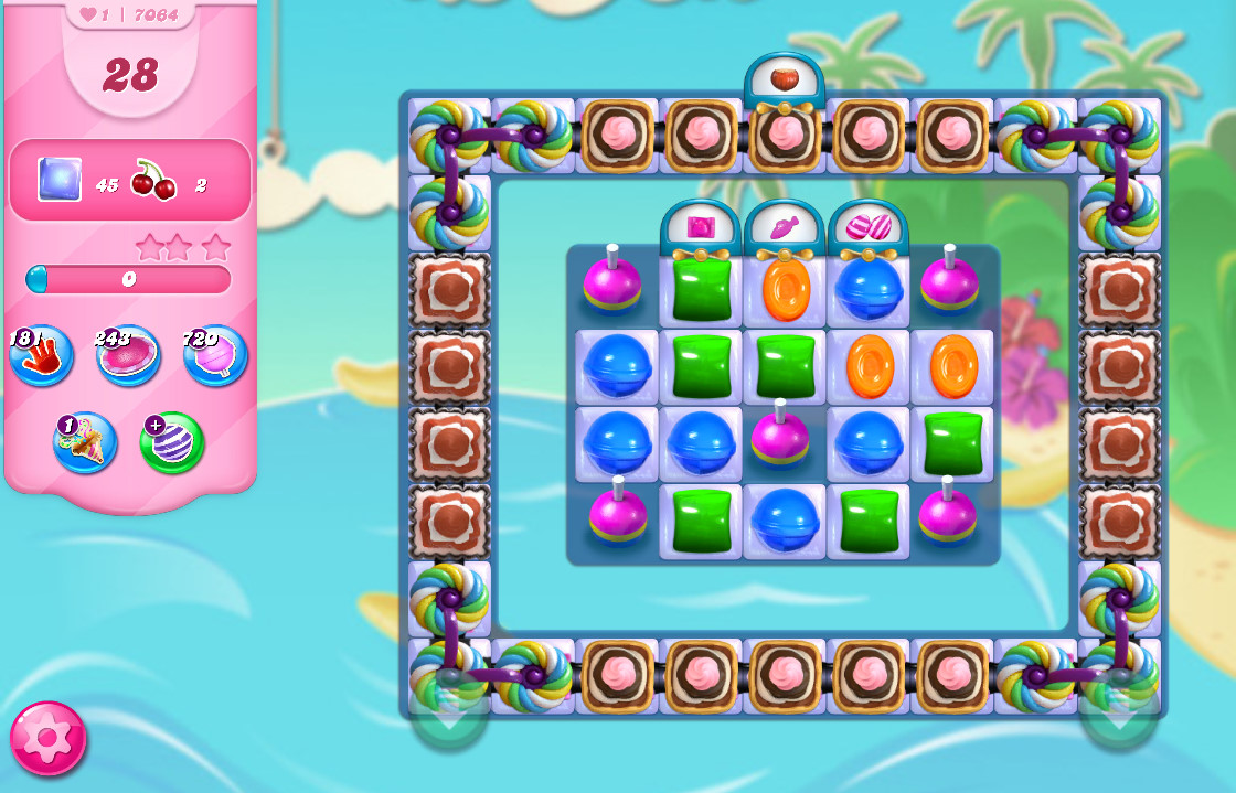 Candy Crush Saga level 7064