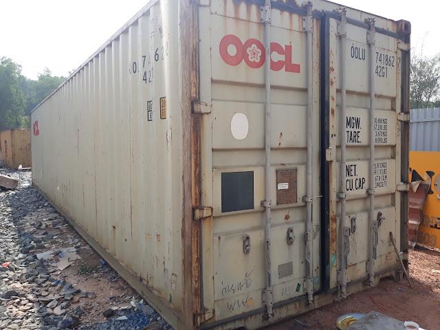 thanh lý container cũ tại long an