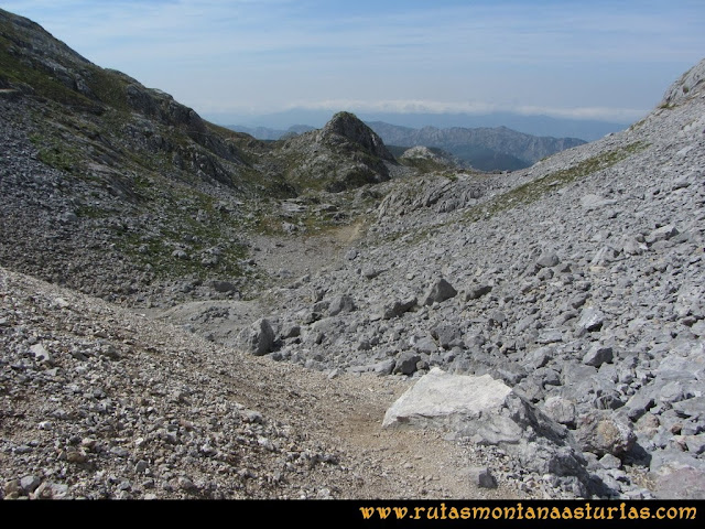 Ruta Macondiú, Samelar y Sagrado Corazón: Entrando en la canal de las Vacas