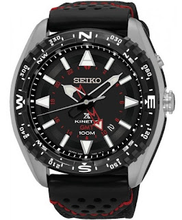 Seiko SUN049P2 Prospex Kinetic GMT 46mm 100M