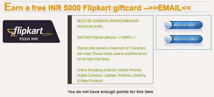 gift voucher flipkart