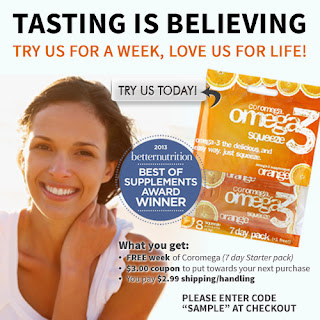 Image: Free Omega-3 Squeeze 7-Day Sample Pack