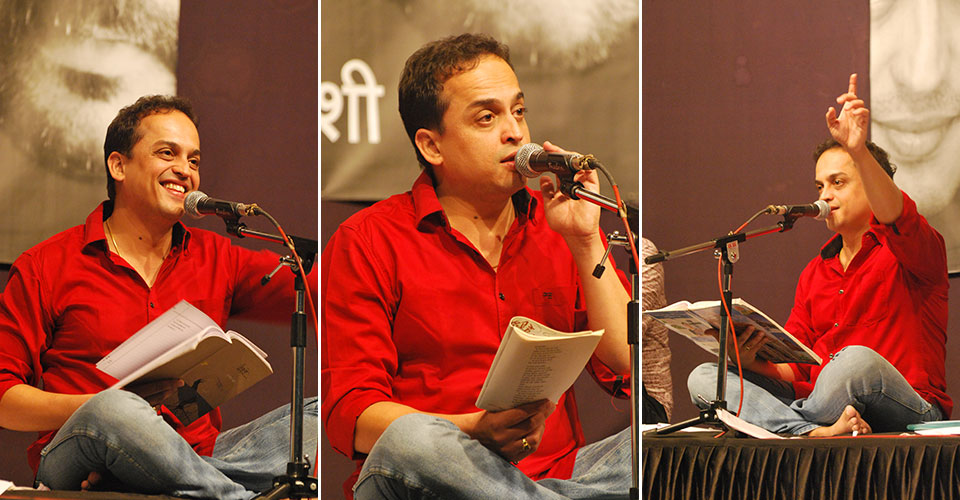 Sandeep Khare at Irshad in Pune