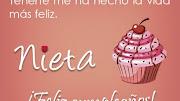 Mensajes de Cumpleaños para Nieticas