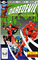 Daredevil v1 #174 elektra marvel comic book cover art by Frank Miller