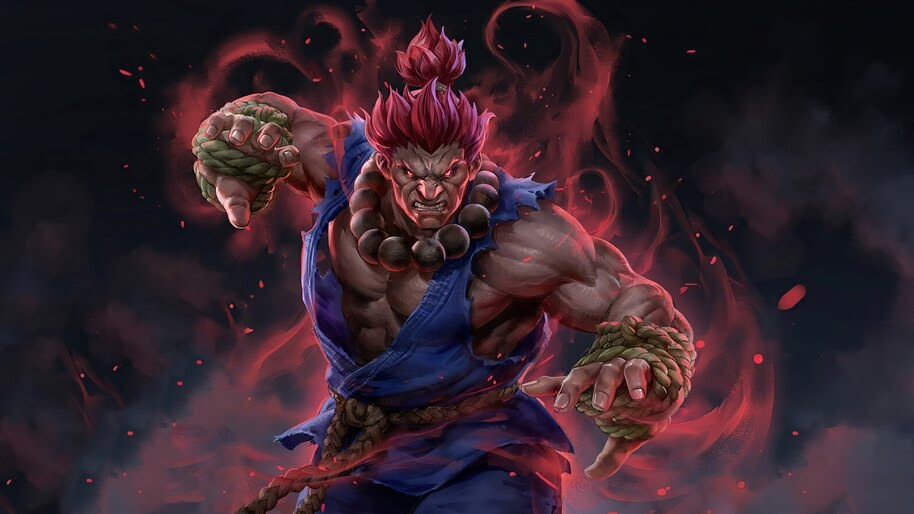 Street Fighter, Akuma, 4K, #6.1607