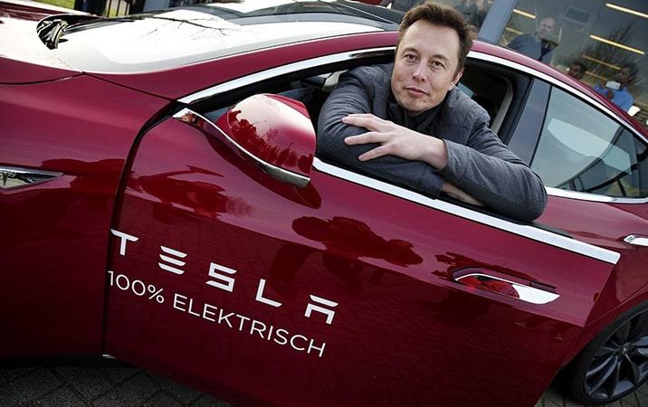 Маск и Тесла